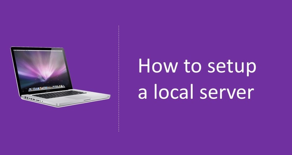 How to setup local server